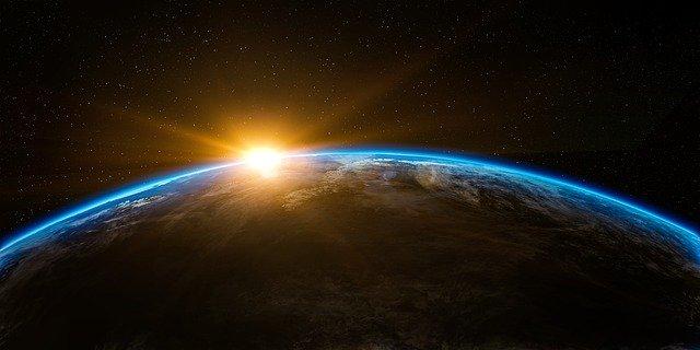 זריחה על פני כדור הארץ