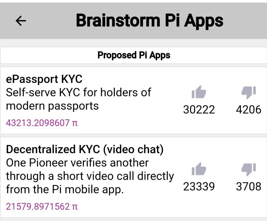 אפליקציית Brainsרעיונות לאפליקציות פאי חדשות שפורסמו באפליקציית בריינסטורם בתאריך 28.12.2020torm של פאי